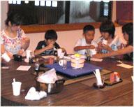 体験教室と工場見学(ヤマキ御用蔵)